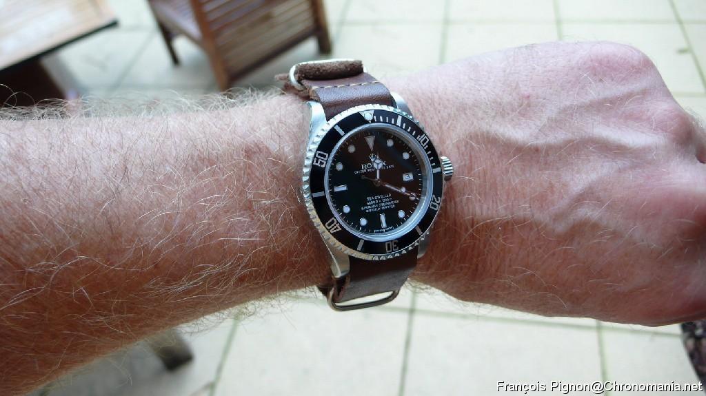 rolex bracelet nato