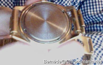 Chronomania Ouvrir montre sans outil
