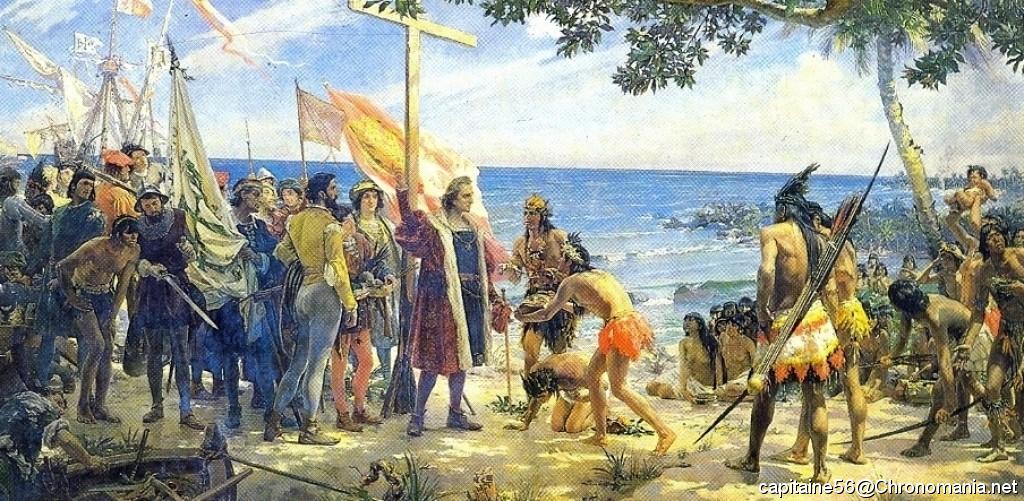 Archimede aurait pu rencontrer christophe colomb